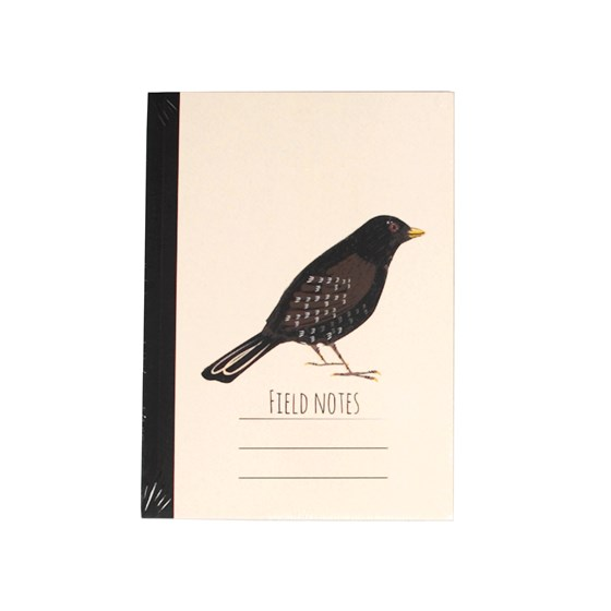 notizbuch a6 blackbird