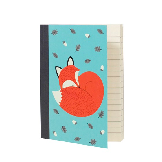 "notizbuch a6 ""rusty the fox"""
