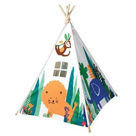 tipi enfant la jungle