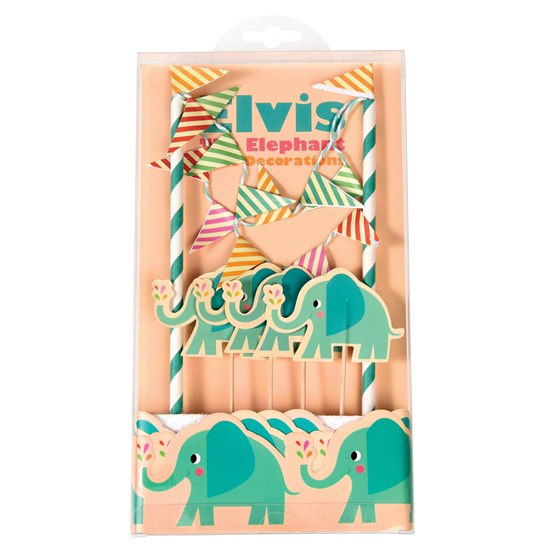 elvis the elephant cake bunting