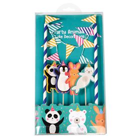 party animals cake bunting