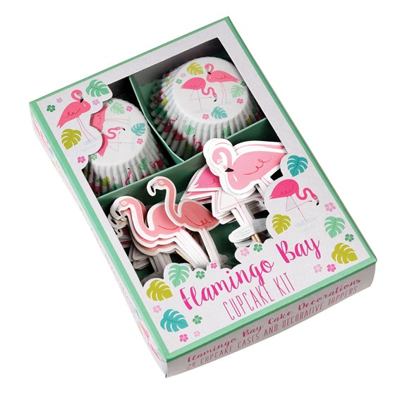 kit cupcake flamingo bay