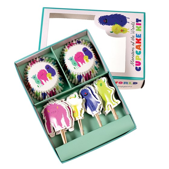 monsters of the world cupcake kit