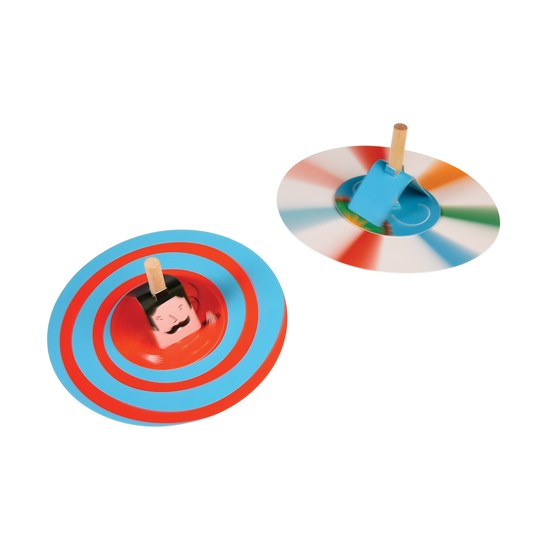 circus spinning tops game