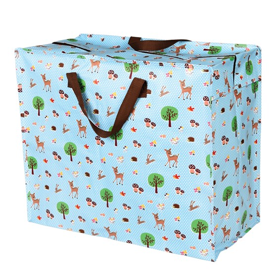 woodland animals design jumbo storage bag