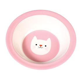 cookie the cat melamine bowl