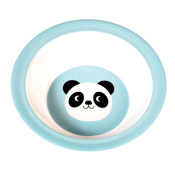 miko the panda melamine bowl