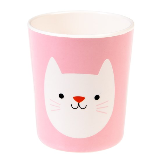 COOKIE THE CAT MELAMINE BEAKER