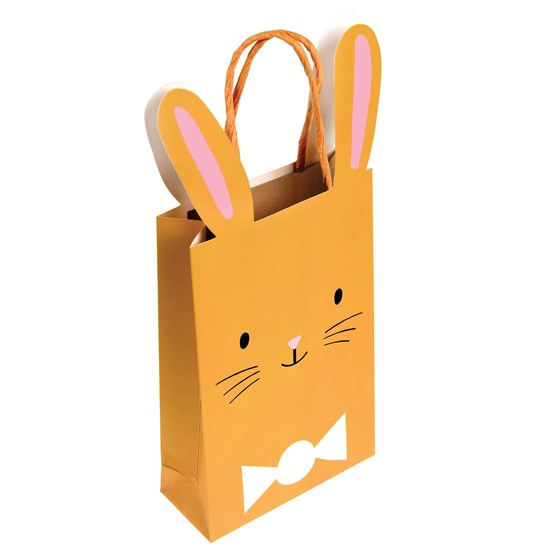 brown easter bunny bag