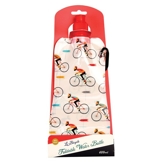 le bicycle folding water bottle
