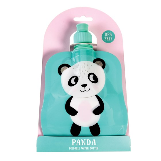miko the panda folding water bottle