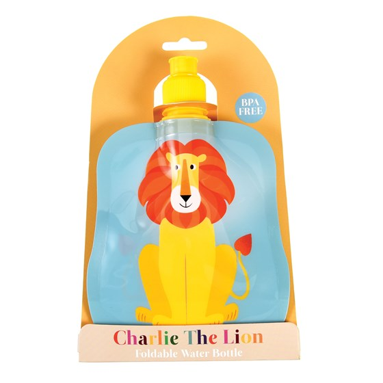 gourde souple pliable charlie the lion