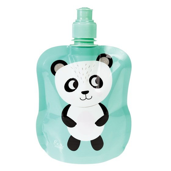 gourde souple pliable miko the panda