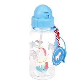 botella de agua infantil magical unicorn water bottle