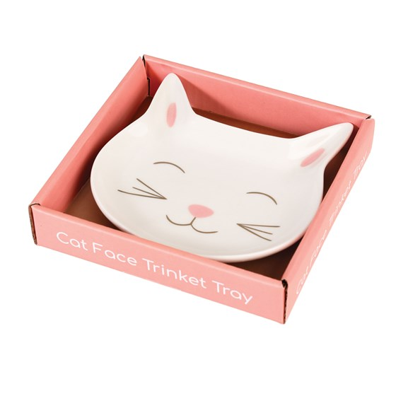 CAT FACE TRINKET TRAY