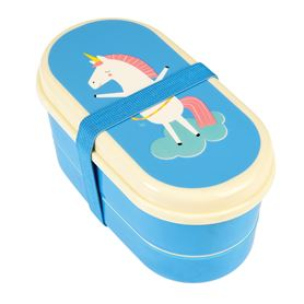 bento box para niños magical unicorn