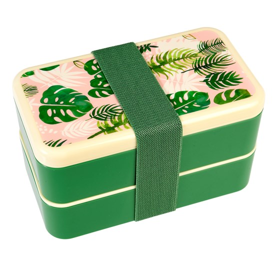tropical palm adult bento box