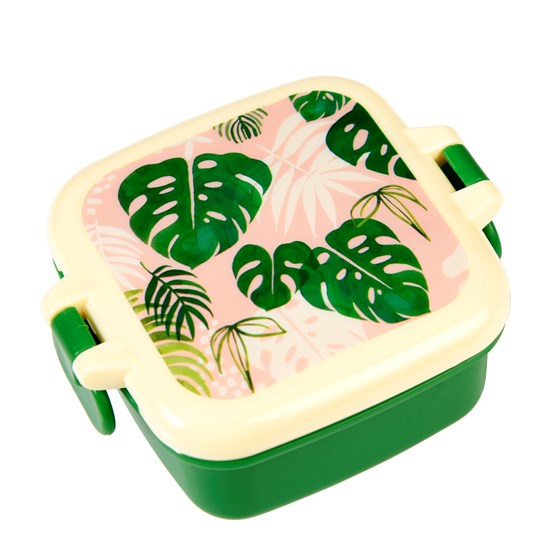 tropical palm snack pot