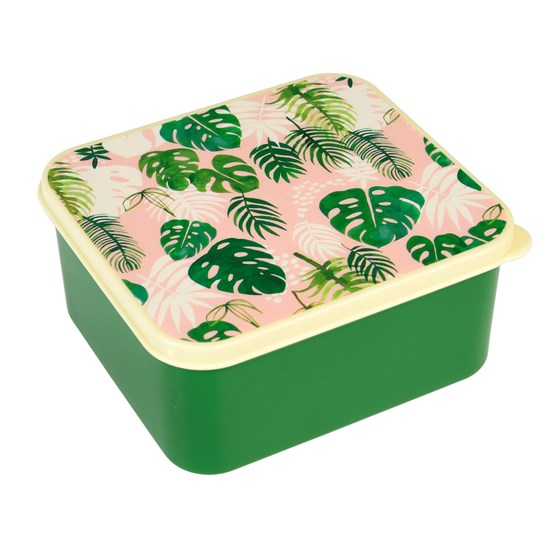 tropical palm lunch box