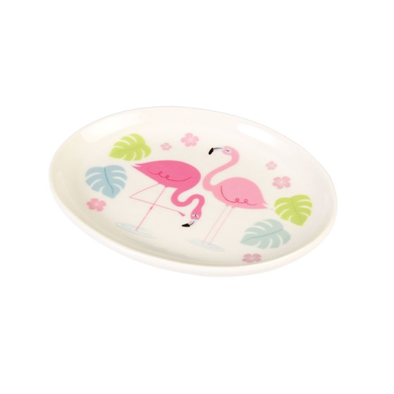 flamingo bay trinket tray