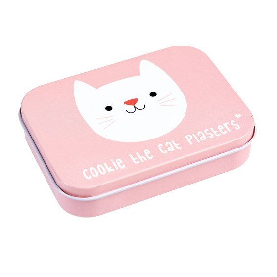 cookie the cat plasters in a tin (pack of 30)