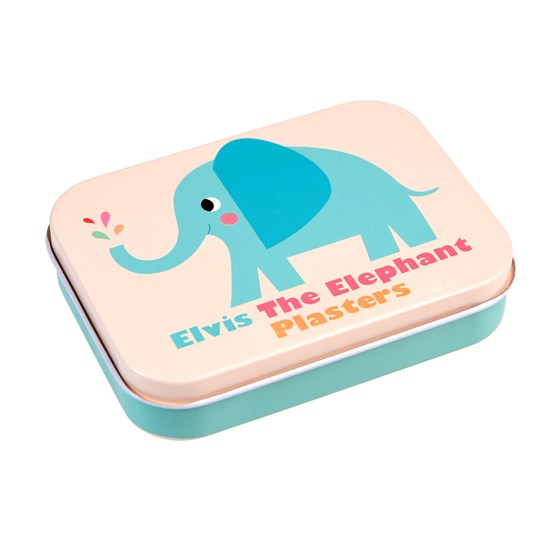 elvis the elephant plasters in a tin (pack of 30)