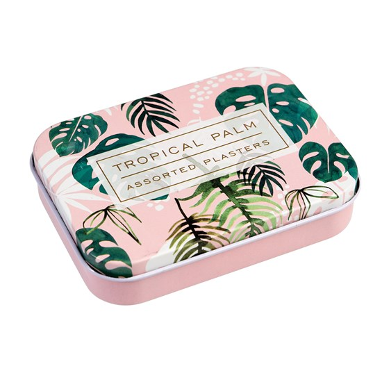 tropical palm plasters in a tin (pack of 30)