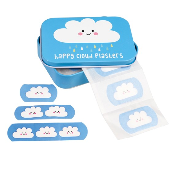 happy cloud plasters in a tin (pack of 30)