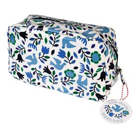folk doves wash bag