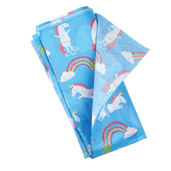 magical unicorn tissue paper (10 sheets)