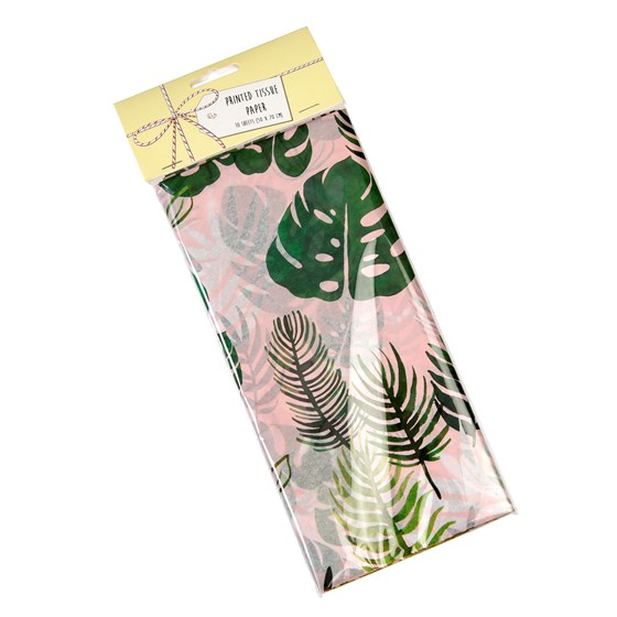 tropical palm tissue paper (10 sheets)