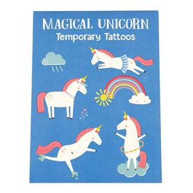 nicht permanente tattoos magical unicorn (2 blätter)