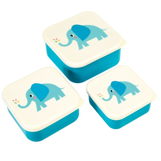 elvis the elephant snack boxes (set of 3)