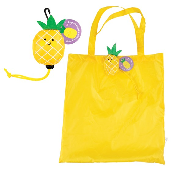 pineapple foldaway bag