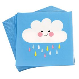 happy cloud napkins (pack of 20)