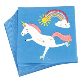 toallas de papel magical unicorn (paquete de 20)