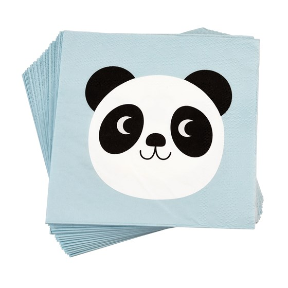 MIKO THE PANDA NAPKINS (PACK OF 20)