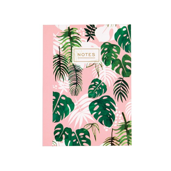 carnet de notes a6 tropical palm