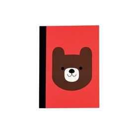 bruno the bear a6 notebook