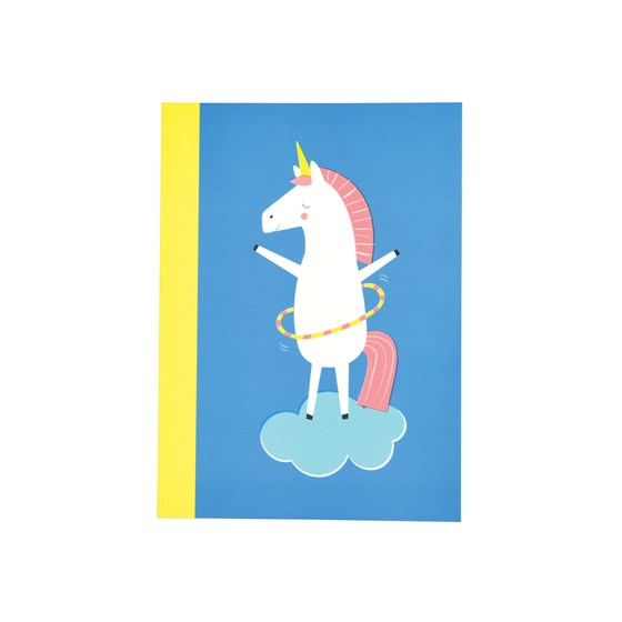 magical unicorn a6 notebook