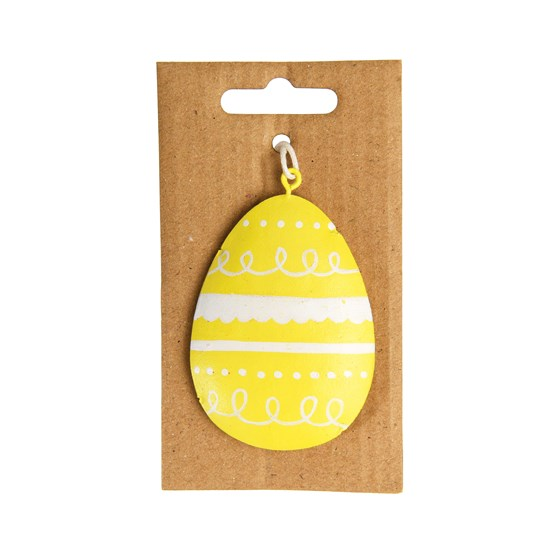 YELLOW EASTER EGG DECORATION