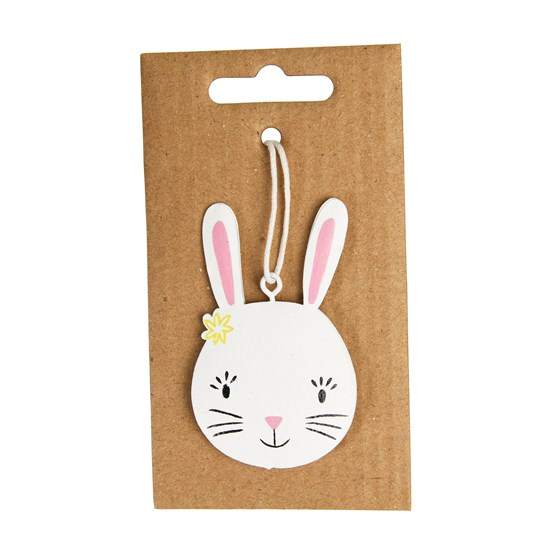 white easter bunny decoration