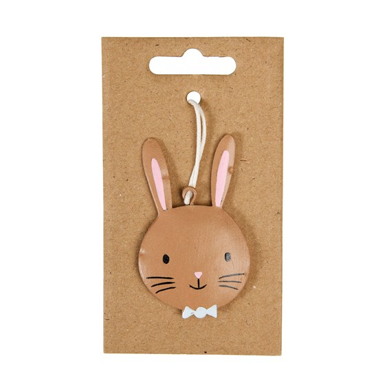 easter bow tie bunny decoration