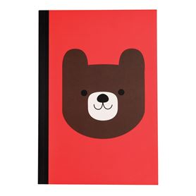 notizbuch a5 bruno the bear