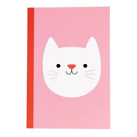cookie the cat a5 notebook