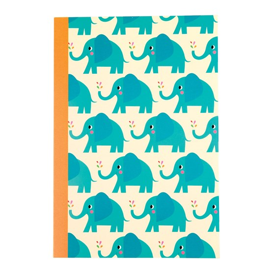 elvis the elephant a5 notebook