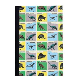 prehistoric land a5 notebook