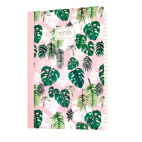 tropical palm a5 notebook