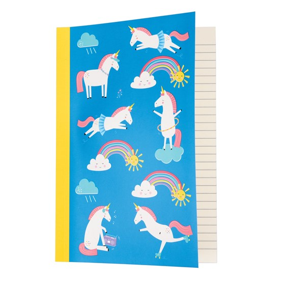 magical unicorn a5 notebook