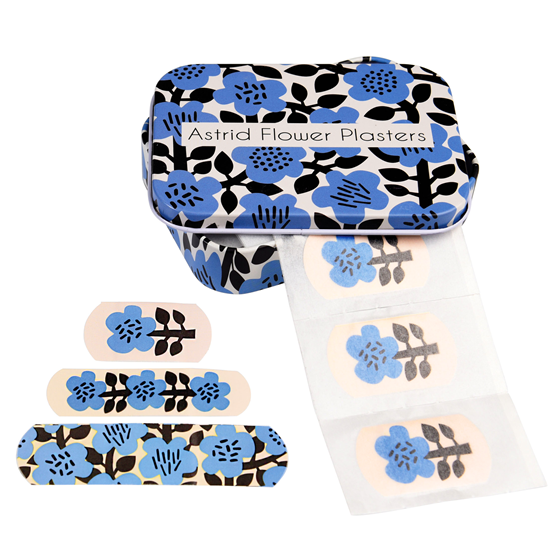 ASTRID FLOWER PLASTERS IN A TIN (PACK OF 30)